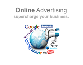 Supercharge your business with online advertising services.